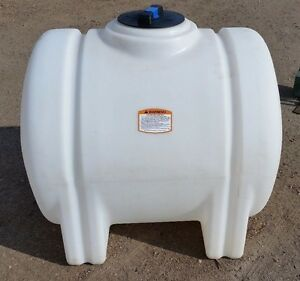125 Gallon Poly Plastic Water Storage Tank Leg