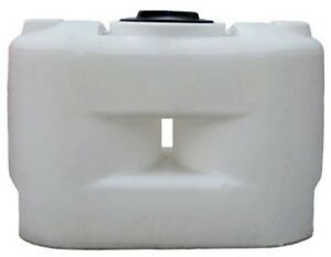 250 Gallon White Freestanding Poly Tank Container 62 x29 x40 water Or Chemical