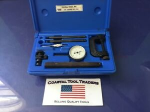 Central Tools Inc Usa 6400 No 200 Range 0 100 Dial Indicator Set g17