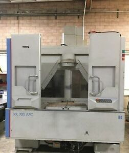 2007 Bridgeport Xr 700 apc hp 12k Rpm 25 Hp Ct 40 60 Atc Vmc Cnc Fanuc 18imb