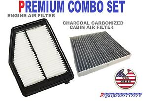 Premium Air Filter Charcoal Cabin Filter For 2012 15 Honda Civic Acura Ilx