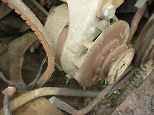 55 Ford Fairlane Front Bumper Core 1955 Needs Re Plate Bends Fixed Sold As Is