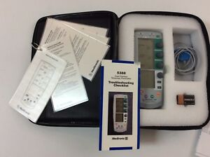 Medtronic 5388 Dual Chamber Temporary Pacemaker With Carry Case And More