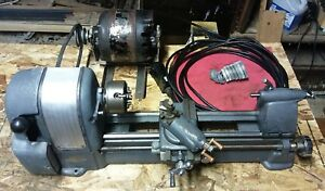 Craftsman 109 21270 Metal Lathe With Motor Gears To Change Lead Screw Speed