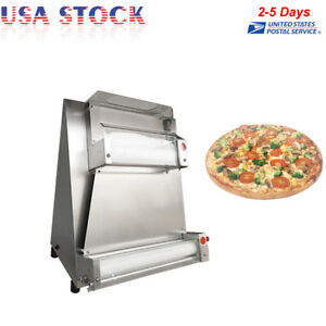 370w Automatic Pizza Bread Dough Roller Sheeter Machine Pizza Making Machine Usa