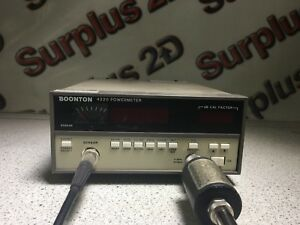 Boonton Model 4220 Power Meter With Sensor