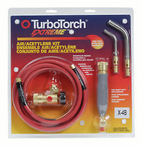X4b Torch Kit Swirl For B Tank Air Acetylene Turbotorch 0386 0336