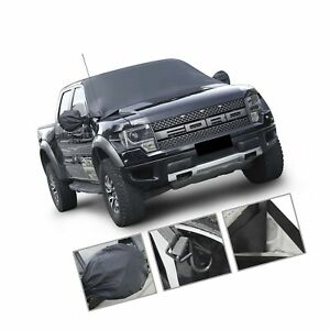 Car Windshield Snow Cover By Mak Tools extra Large Size For Most Vehicle 72 x