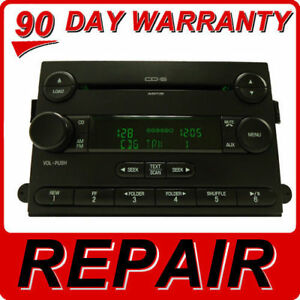 Repair Your 2004 2010 Ford Lincoln Mercury Radio Stereo Am Fm Single Cd Player
