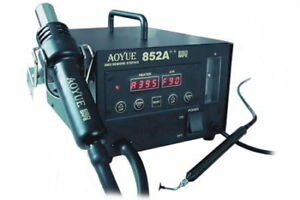 Aoyue 852a Smd Digital Hot Air Rework Station With Vacuum Pickup Refurbished
