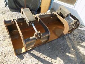 Bobcat Oem 80 Grapple Bucket For Skid Steer Loaders Quick Attach S 121059