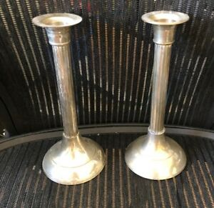 International Silver Co Candle Holders Set Of 2