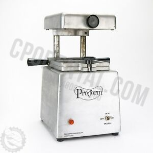 Proform Dental Denture Tray Vacuum heater Great Condition Buy Now