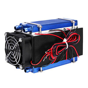 Dc 12v 420w 6 chip Semiconductor Refrigeration Cooler Air Cooling Equipment Radi