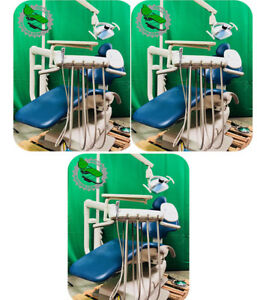 Awesome 3 Op Adec 511 Dental Chair Delivery Assistant Package Best On Ebay