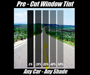 Pre Cut Window Tint All Sides Rears Any Shade Vlt For Dodge Truck Suv Black