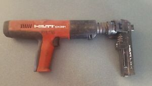 Hilti Dx 351 X mx32 Attachment Powder actuated Tool 3 l145522a