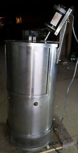 Refrigerated Cooling Jacketed Stainless Steel Mixing Mix Tank Kettle 15 Gallon
