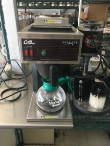 Curtis Commercial Alpha 2gt Coffee Maker Brewer Machine Alp2gt12a000 Works Great