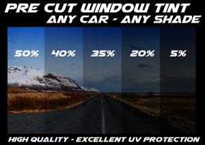 Pre Cut Window Tint All Sides Rears Any Shade Vlt For All Toyota Precut Black