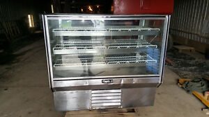 Tall Counter Refrigerated Leader Glass Bakery Display Show Case Hbk57 57 Cooler