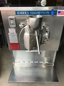 Emery Thompson 24 Qt Water Cooled Batch Freezer For Hand Dipped Ice Cream