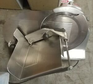 Berkel 818 Deli Slicer Automatic gravity Commercial Meat cheese Slicer