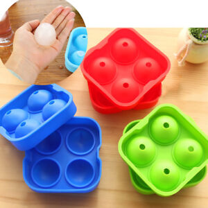 Whiskey Silicon Ice Cube Ball Maker Mold Suit for Chocolate in Summer Whiskey