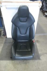 2008 2009 Audi S5 Right Front Seat Electric Leather Sport Seat Opt Q4q Oem