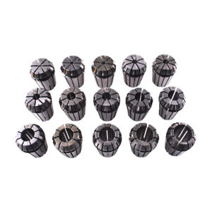 15pcs Set Er25 2 16mm Spring Collet For Cnc Milling Lathe Tool Engraving Machine