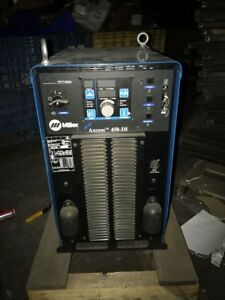Miller Auto Axcess 450 di 450 Di 907153001 Robot Robotic Welder Power Source Mig