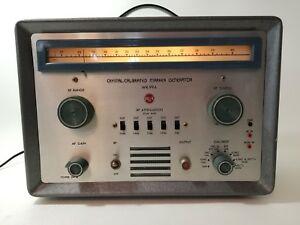 Wr 99a Vintage Rca Crystal Calibrated Marker Generator Model Wr 99a