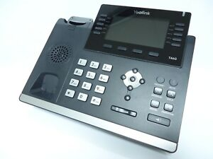 Yealink Sip t46g 6 line Ultra elegant Gigabit Hd Ip Office Phone W Base