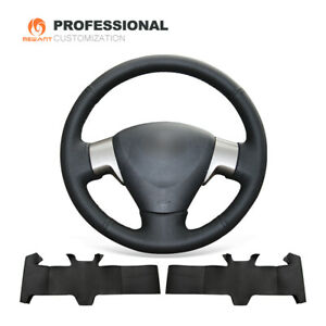 Design Genuine Leather Steering Wheel Cover For Toyota Corolla Matrix Auris 2009