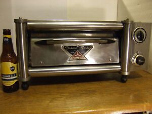 Very Rare Vintage Miniature Small Commercial Bakers Pride Counter Top Oven Y12