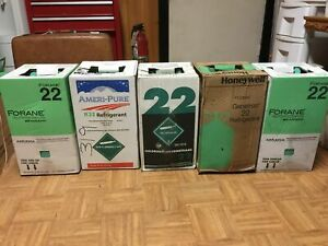 R22 Refrigerant 30 Lb New Sealed Usa r 22 Ft Lauderdale Pick Up Only