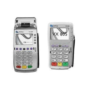Verifone Vx520 And Vx805 With Adapter And Charger Wow Wow