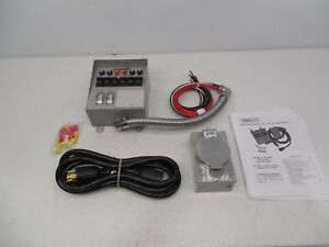 Reliance 6 Circuit Generator Transfer Switch Kit Model 31406crk