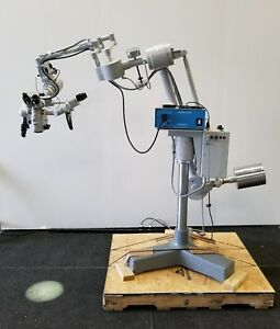 Zeiss Opmi Cs nc F170 T Surgical Microscope With Contraves Base