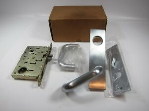 New Sargent 8100 Line Mortise Lock Set 18 8125 Lw1h 26d Lh Satin Chrome