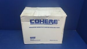 36 Rolls Sta Cohere Clear Packing Tape 48mm X 100m 1 7 8 X 328 1080