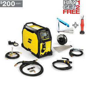Esab Rebel Emp 235ic 110v 230v Multiprocess Welder 0558012702 buy 1 Get Two Ps