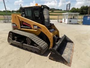 2005 Cat 277b Skid Steer Erops Heat 2 Spd Aux Hydraulics Well Maintained