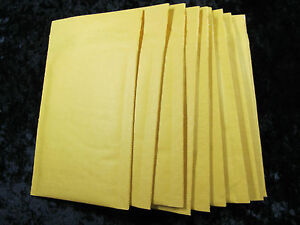 100 5 10 1 2 X 15 Kraft Bubble Mailers Padded Envelope 10 1 2 x15