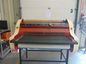Banner American Finisher 4300 43 Print Shop Hot Roll Laminator