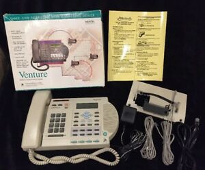 Nortel Venture 3 Line Business Office Phone All Components Included Nice