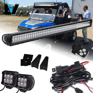 Ford New Holland 50inch Led Light Bar Kit Ls120 Ls125 Ls140 Ls150 ls160 qi
