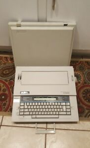 Vtg Typewriter Smith Corona Grammer Right System Xd8500