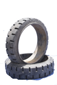 2 26x7x20 Tires High Rubber Used Solid Forklift Tires traction Kalmar a c
