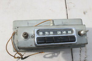 1953 1954 Chevy Car Radio